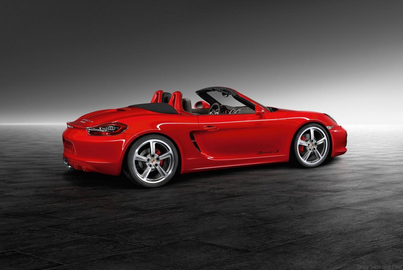 porsche exclusive unveils bespoke boxster s drive safe and fast. Black Bedroom Furniture Sets. Home Design Ideas