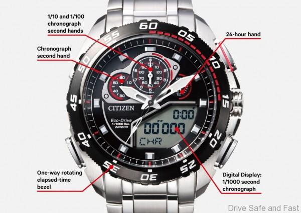 CITIZEN PROMASTER Eco-Drive Racing Chronograph 5