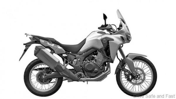Honda Africa trailc