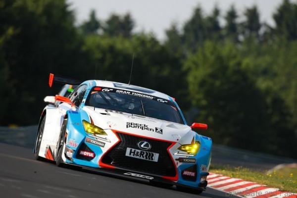Lexus RC-F GT3 VLN Nurburgring (2)