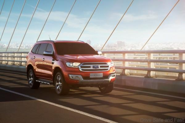 New Ford Everest-Bridge