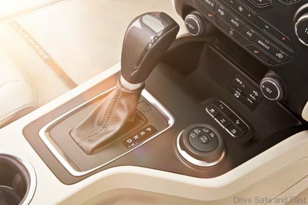 New Ford Everest-Gear Selector-RHD