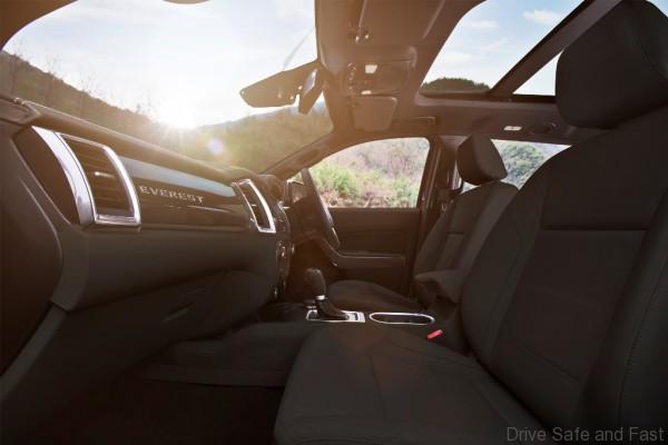 New Ford Everest-Interior 1-Basalt-RHD