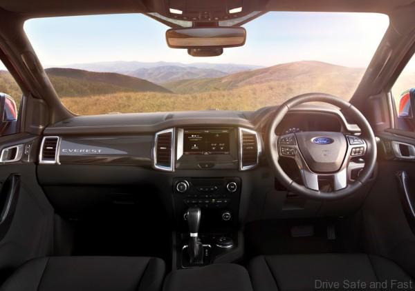 New Ford Everest-Interior 2-Basalt-RHD