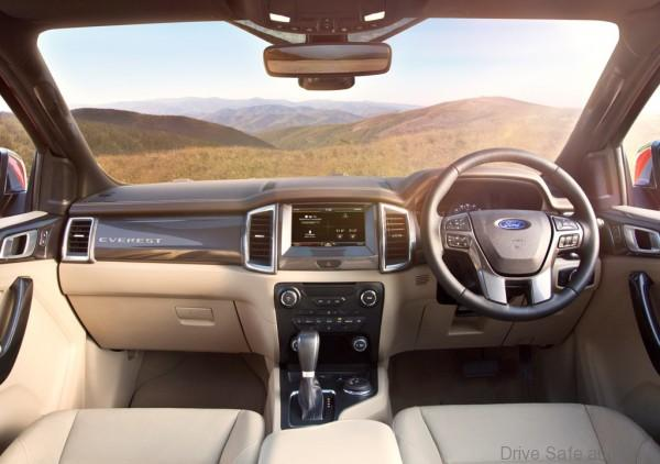 New Ford Everest-Interior 2-Flaxen-RHD