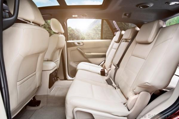 New Ford Everest-Interior 3-Flaxen