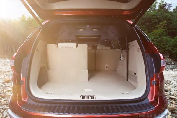 New Ford Everest-Seats