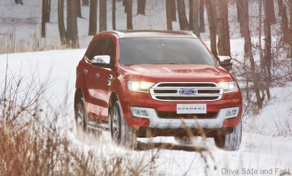 New Ford Everest-Snow