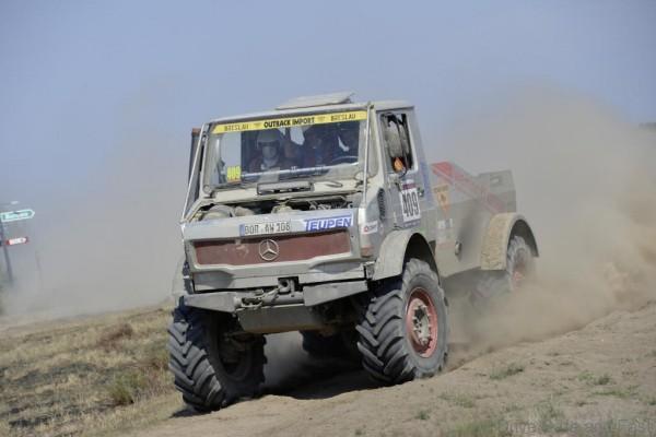 """Platz 1 in der Kategorie """"Small Truck Extreme"""" der Rallye Breslau Polen"""