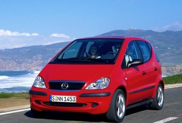 mercedes a-class 2004