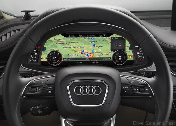 Audi GPS Here Nokia