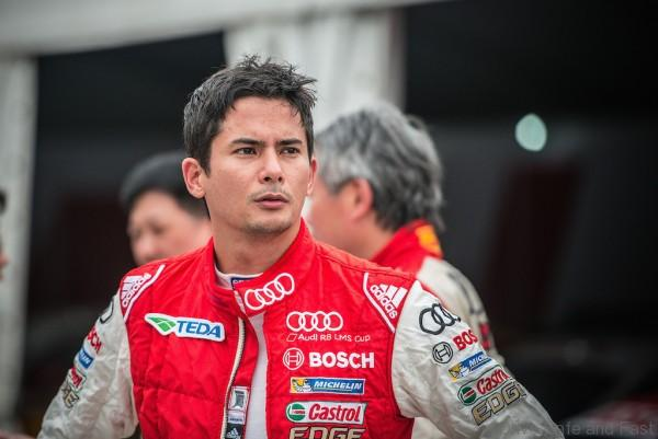 Alex Yoong (MAL) Audi TEDA Racing Team at Audi R8 LMS Cup, Zhuhai, China, 22 March 2015.