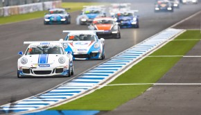 2015 Porsche Carrera Cup Asia.  Round 7 and 8.  Thailand.   31st July - 3rd August 2015.   Photo: Drew Gibson