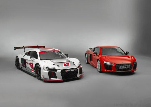 At the Audi site Böllinger Höfe near the Neckarsulm location, the chassis of the Audi R8 LMS and the Audi R8 are manufactured at the same facilities