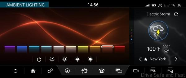 InControl Touch Pro ambient lighting