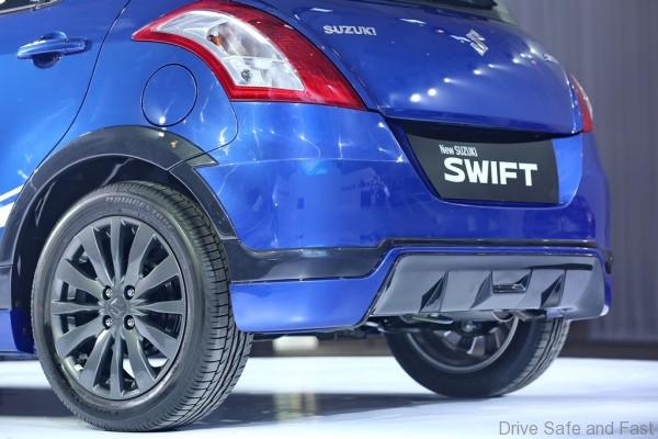 Limited Edition SUZUKI Swift RR2_Back view (Close-up)