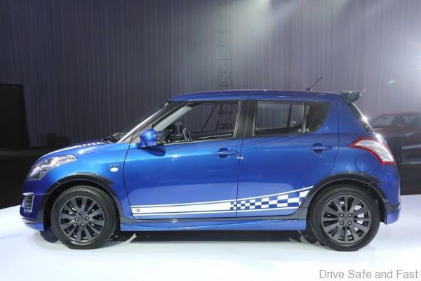 Limited Edition SUZUKI Swift RR2_Side view with Sporty Side Decal