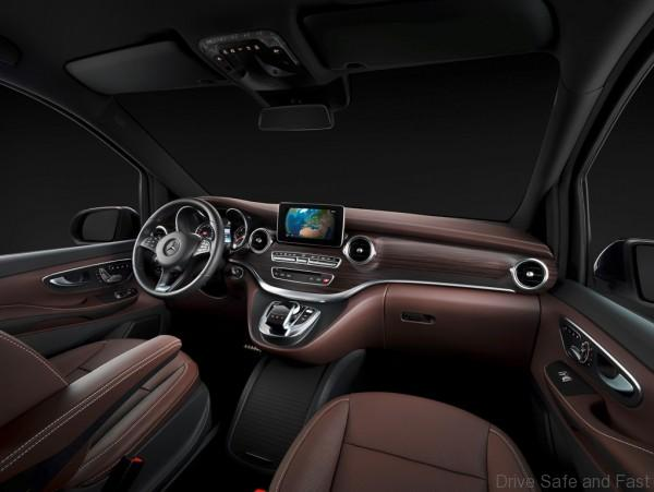 The new Mercedes-Benz V-Class – Interior, Cockpit, TecDays 2013