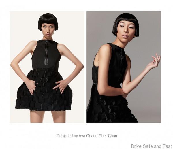 Photo 2 - Black Mini Dress - Aya Qi - Cher Chan