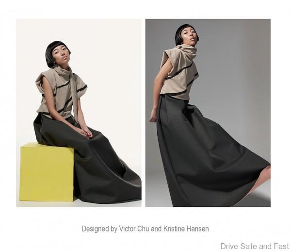 Photo 4 - Maxi Dress with Scarf - Victor Chu - Kristine Hansen