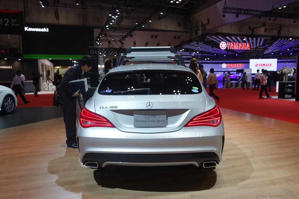 mercedes c180 shooting brake sports tokyo motor show. Black Bedroom Furniture Sets. Home Design Ideas
