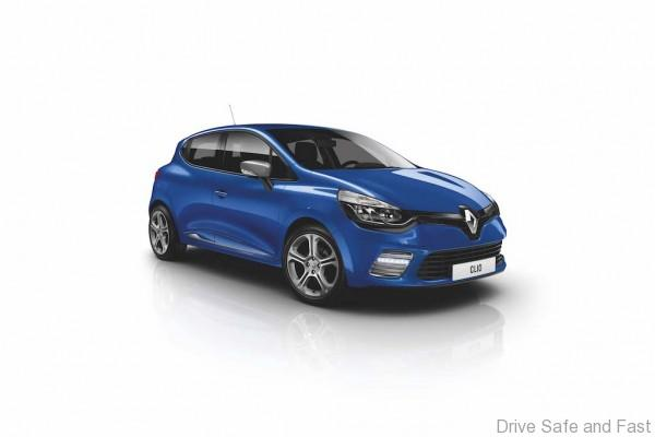 New Renault CLIO GT LINE_Malta Blue colour 2