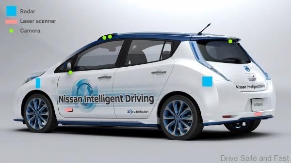 YOKOHAMA, Japan (October 29 2015) – Nissan has begun testing its first prototype vehicle that demonstrates piloted drive on both highway and city/urban roads.