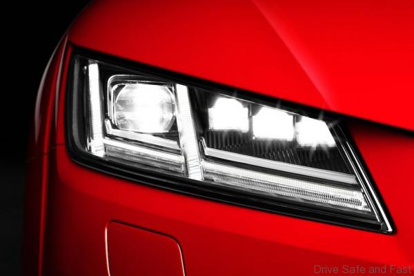 Matrix LED headlight