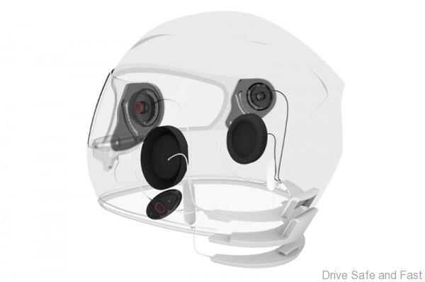 New Sena Helment Inside (PRNewsFoto/Sena Technologies, Inc.)