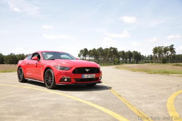 Ford Mustang Stig Ben Collins
