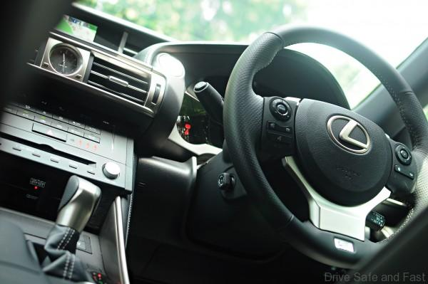 Lexus IS 200t Interior