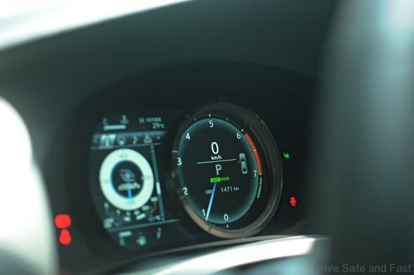 Lexus IS 200t cluster