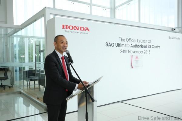 Pic 3 - Honda Malaysia MD & CEO_Yoichiro Ueno