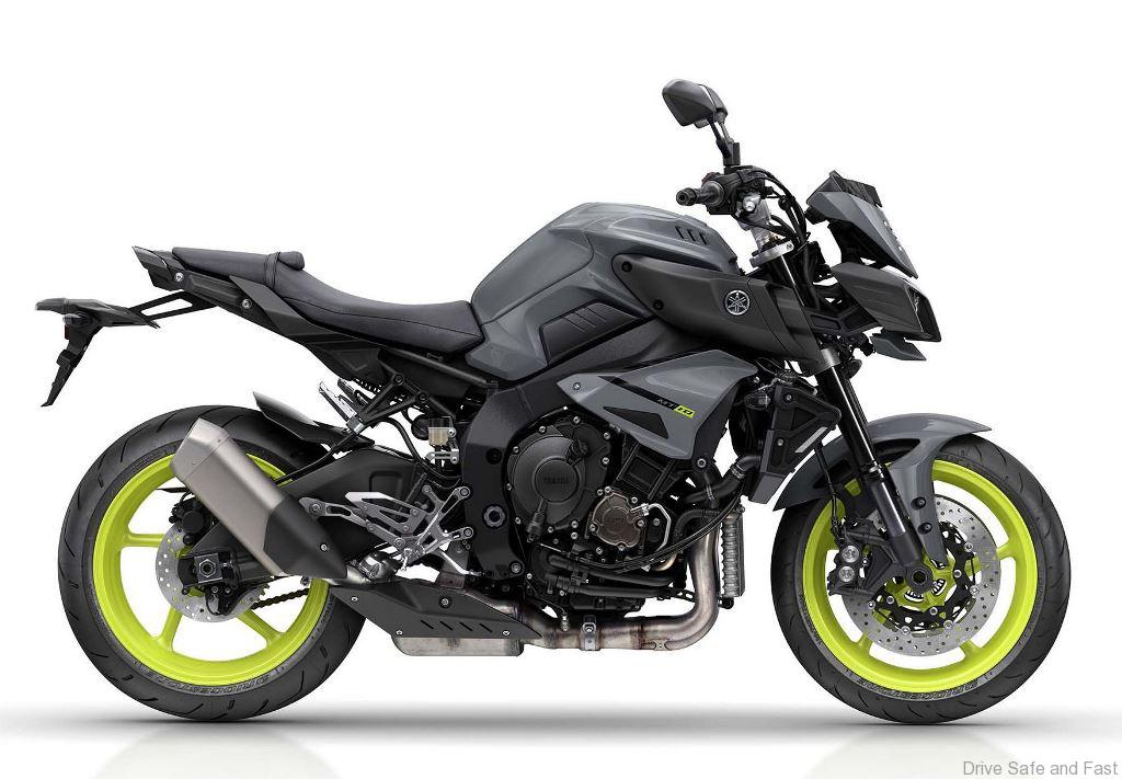 yamaha motor launches mt 10 flagship model of mt series