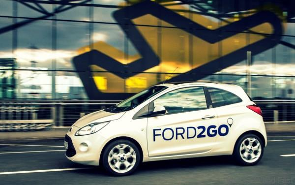 Ford partners with Ford dealers and DB Rent in FORD2GO