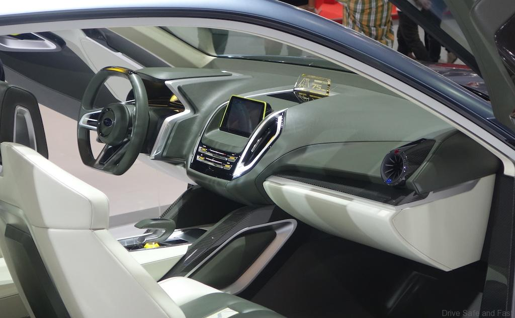Subaru Viziv 2 Concept With Video Of Door Demonstration Drive Safe And Fast