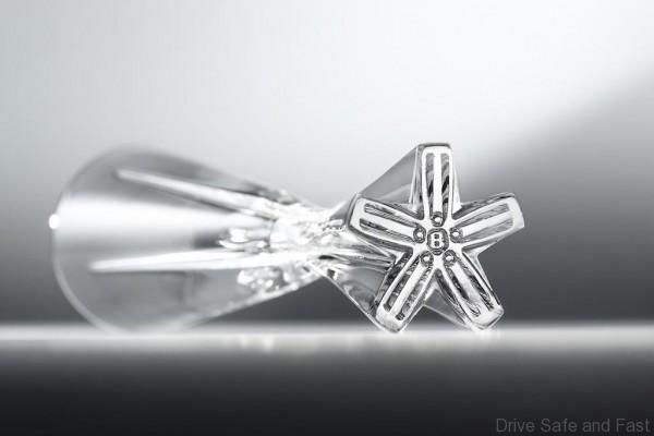 David Redman Champagne Flute - Lay Down