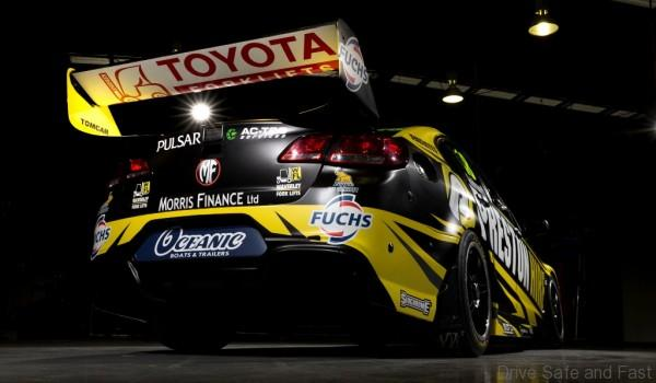 Australia's newest V8 Supercar team Preston Hire Racing. The new team is owned by businessman Charlie Schwerkolt, and will be driven by Lee Holdsworth.  February 19, 2016.