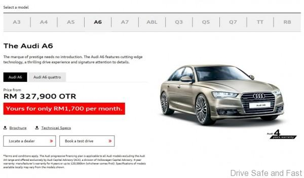 Audi A3 - now from RM 999 per month (2)
