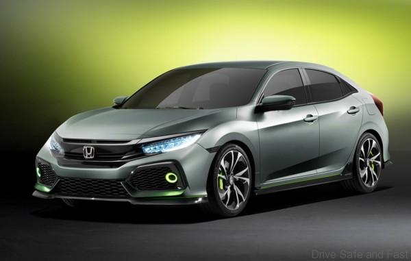 Civic hatchback prototype 2