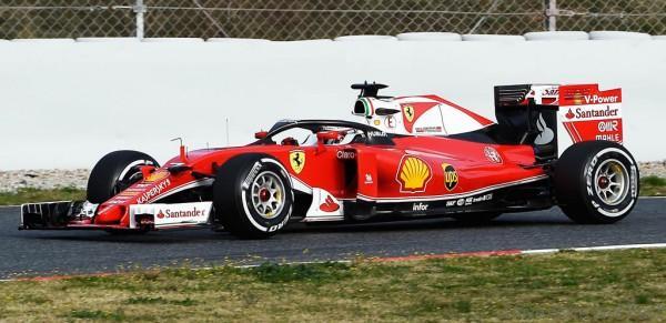 Ferrari tests halo 3