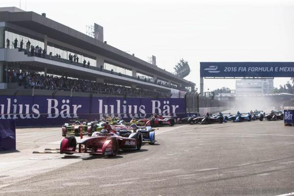 Mexico City e-Prix, Mexico, Central America. Saturday 12 March 2016 Photo: Andrew Ferraro/LAT/FE ref: Digital Image _FER5966