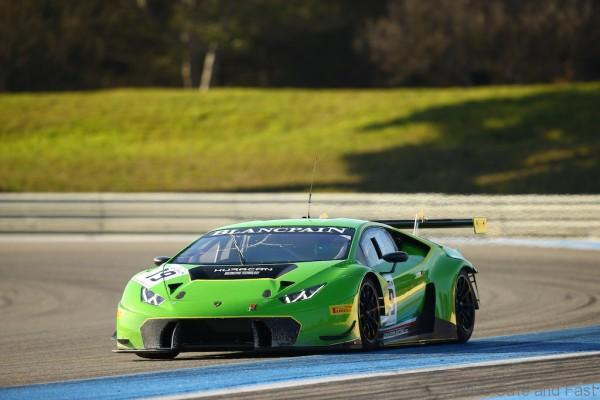 #19 GRT GRASSER RACING TEAM (AUT) LAMBORGHINI HURACAN GT3
