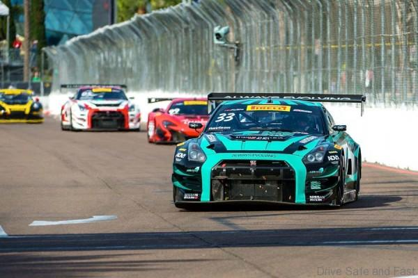 GT-R at race 4