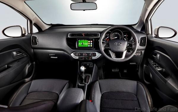 Kia Rio Sedan X Interior (3)