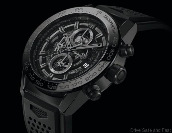 TAG Heuer CARRERA HEUER-01 BLACK CERAMIC -1