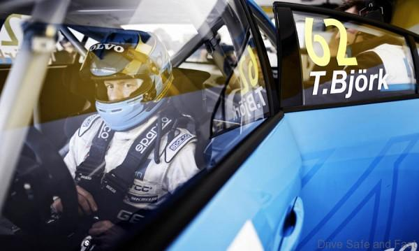 BJORK Thed (swe) Volvo S60 team Volvo Polestar portrait ambiance during the 2016 FIA WTCC World Touring Car Test Vallelunga March 2 to 3 - Photo Francois Flamand / DPPI
