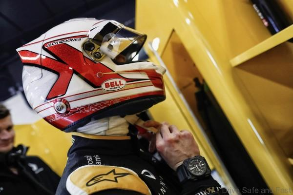 MAGNUSSEN Kevin (dan) Renault F1 RS.16 driver Renault Sport F1 team ambiance portrait during Formula 1 winter tests 2016 at Barcelona, Spain from February 22 to 25 - Photo Francois Flamand / DPPI