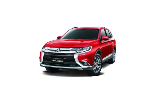 All-New Outlander Now in Mitsubishi Showrooms Nationwide