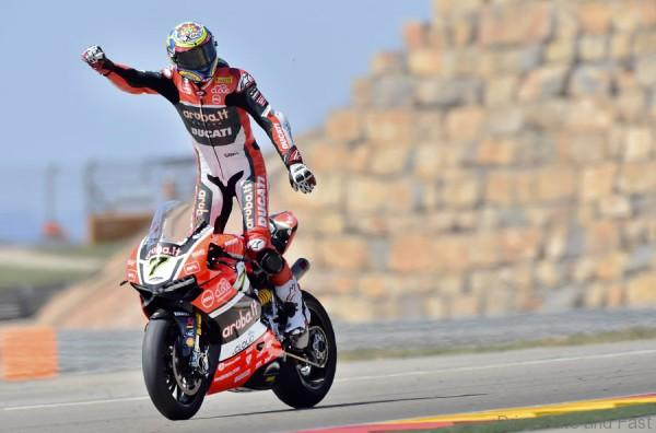 Ducati WSBK, Aragon 2